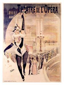Theatre de l'Opera by Henri Gray