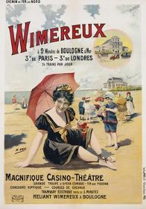 Wimereux Travel Poster by Henri Gray
