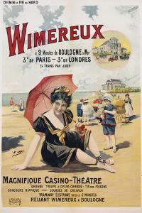 Wimereux Travel Poster by Henri Gray