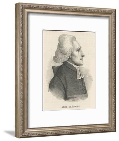 Henri Gregoire--Framed Giclee Print