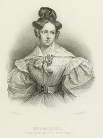 Henrietta, Madamoiselle Sontag