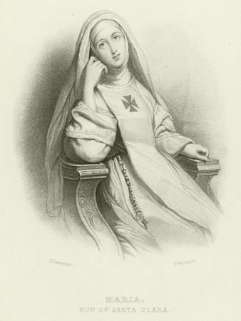 Maria, Nun of Santa Clara