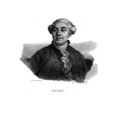 'Necker', Jacques Necker, (1822)