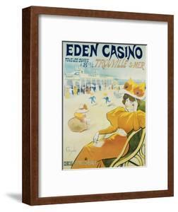 Eden Casino Poster by Henri Guydo
