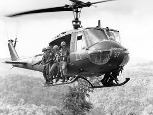 Vietnam War Operation Thayer II by Henri Huet