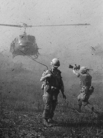 Vietnam War US Helicopter Landing