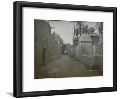 Vue d'une rue de Biskra