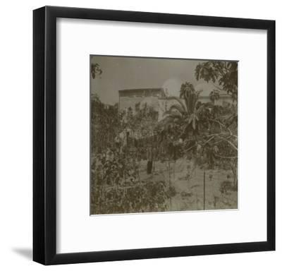 Vue de la maison natale d'Henri Evenepoel à Saint Barthélémi près de Nice