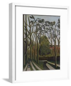The Banks of the Bièvre near Bicêtre by Henri JF Rousseau