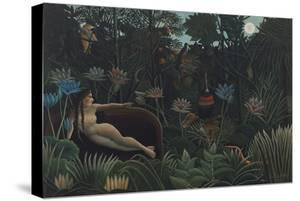 The Dream by Henri JF Rousseau