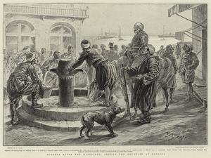Armenia after the Massacres, around the Fountain at Mersina by Henri Lanos