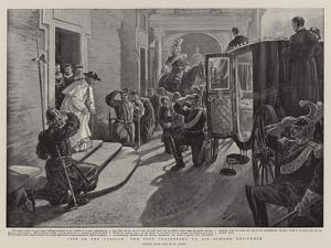 Life in the Vatican, the Pope Proceeding to His Summer Residence by Henri Lanos