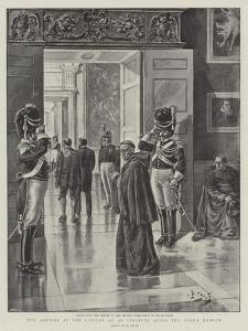 The Arrival at the Vatican of an Inquirer after the Pope's Health by Henri Lanos