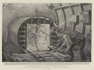 The City and Waterloo Railway, a Visit to the Works by Henri Lanos