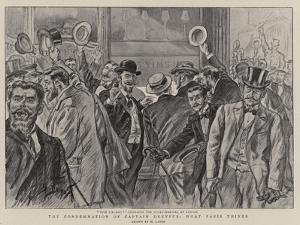 The Condemnation of Captain Dreyfus, What Paris Thinks by Henri Lanos