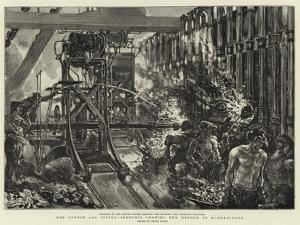 The London Gas Supply, Sketches Showing the Method of Manufacture by Henri Lanos