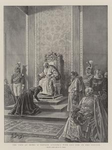 The Pope at Home, a Private Audience with Leo XIII in the Vatican by Henri Lanos