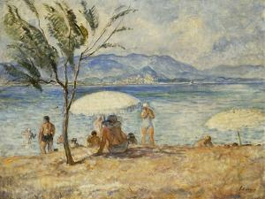 Bathers; Baigneuses by Henri Lebasque