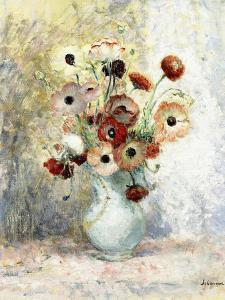 Bouquet of Anemones by Henri Lebasque