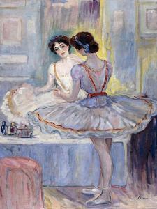 Miss Zambelli in her Dressing Room by Henri Lebasque