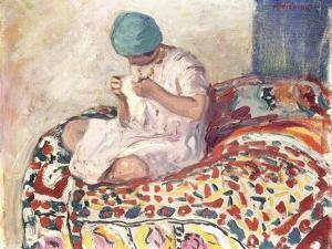The Little Sewer by Henri Lebasque