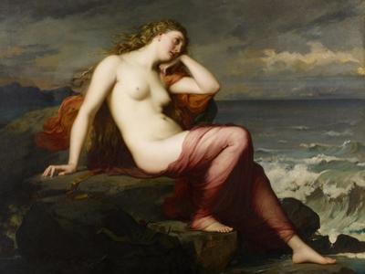Calypso, 1869 by Henri Lehmann