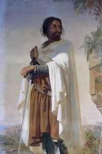 Hugues De Payens, Grand Master of the Knights Templar by Henri Lehmann