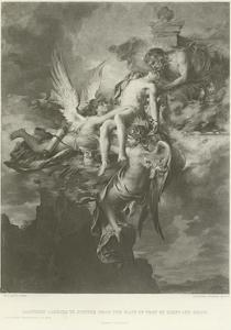 Sarpedon Carried to Jupiter from the Plain of Troy by Sleep and Death by Henri Leopold Levy