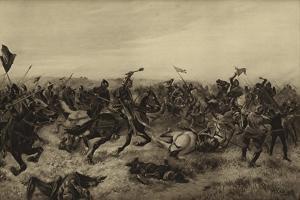 Battle of Agincourt; 1415 by Henri-Louis Dupray