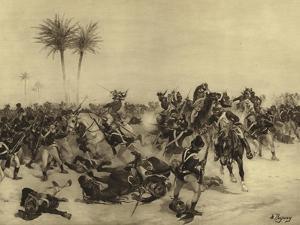 Battle of Alexandria, 1801 by Henri-Louis Dupray
