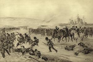 Battle of Alma, 1854 by Henri-Louis Dupray