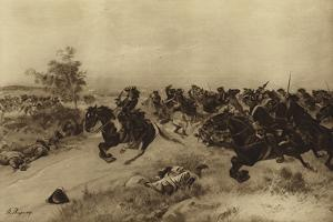 Battle of Blenheim, 1704 by Henri-Louis Dupray