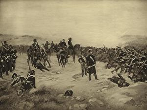 Battle of Inkerman, 1854 by Henri-Louis Dupray