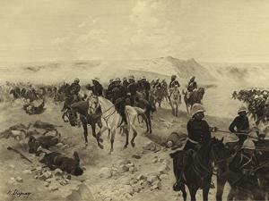 Battle of Kandahar, 1879 by Henri-Louis Dupray