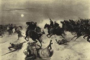 Battle of Kassassin, 1882 by Henri-Louis Dupray