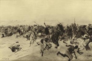 Battle of Omdurman, 1899 by Henri-Louis Dupray