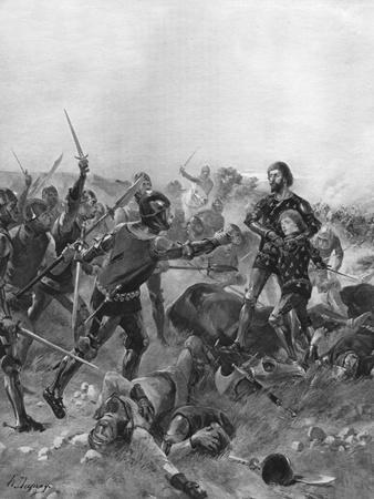 Battle of Poitiers, France, 1356
