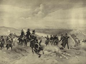 Battle of St Cloud, 1814 by Henri-Louis Dupray