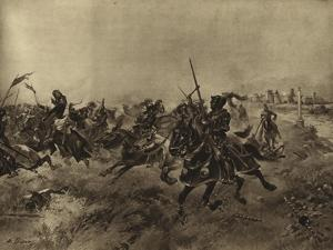 Battle of the Spurs, 1513 by Henri-Louis Dupray