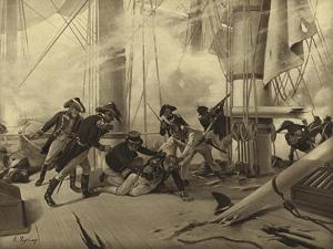 Battle of Trafalgar, 1805 by Henri-Louis Dupray