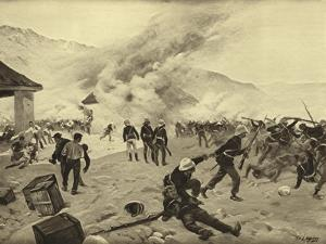 Defence of Rorke's Drift, 1879 by Henri-Louis Dupray