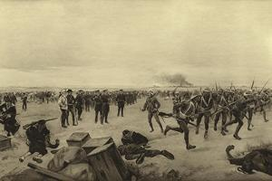 Defence of the Chinese Legation, 1900 by Henri-Louis Dupray
