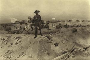 Siege of Mafeking, 1900 by Henri-Louis Dupray