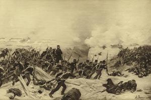 Siege of Sebastopol, 1854-1855 by Henri-Louis Dupray