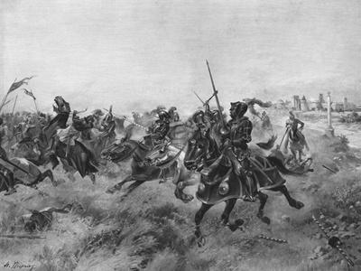 The Battle of the Spurs, 1513