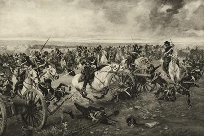 The Scots Greys at Waterloo, 18 June 1815, C.1902