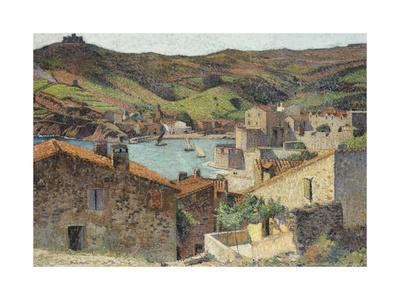 The Village of Collioure with a View of the Port