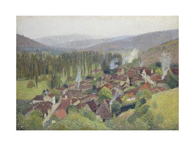 View of Labastide Du Vert, France, 1935