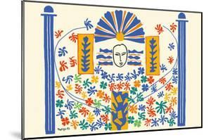 Apollo (Apollon) - Artist Model for a Ceramic Tile Mural by Henri Matisse
