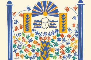 Apollo (Apollon) - Artist Model for a Ceramic Tile Mural by Henri Matisse